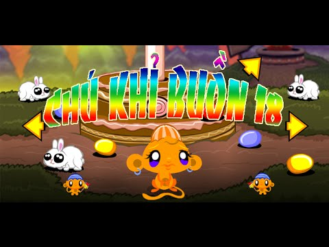Game chú khỉ buồn 18 - Video hướng dẫn chơi game 24h