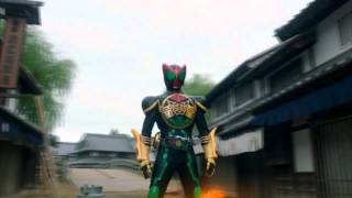 Kamen Rider OOO The Movie AMV Battleship Trailer Song