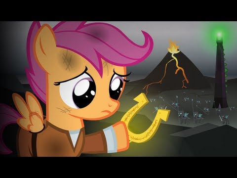 Lord of the Rings-Re-enacted by Ponies