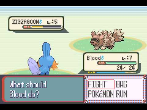 Pokemon Sapphire - Pokemon Sapphire-Part1/2 - User video