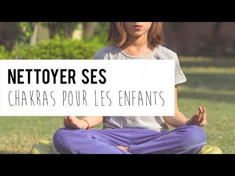 EXERCICE : Nettoyage des chakras pour les ENFANTS
