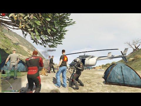 GTA 5 Online - Tập 19: Phượt cùng đội quậy phá đường phố đi tìm MA #3