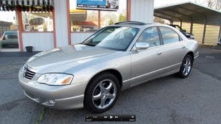 2002 Mazda Millenia S Supercharged Start Up, Exhaust, and In Depth Review