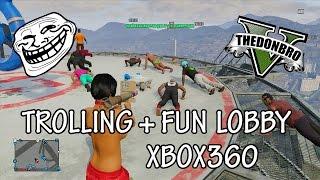 GTA 5 Online ''Mod Menu'' Trolling/Fun Public Lobby