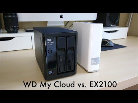 Western Digital My Cloud vs. My Cloud EX2100 Speed Comparison