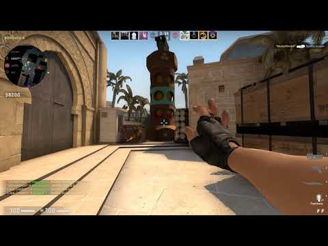 CS:GO Competitive Match#97 Mirage GamePlay