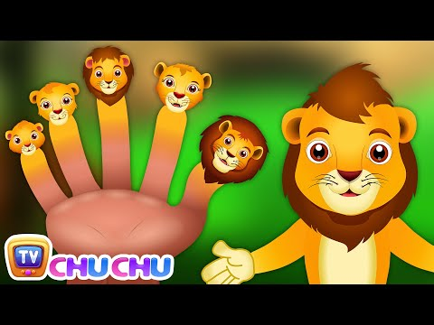 Lion Finger Family | ChuChu TV Animal Finger Family Songs & Nursery Rhymes For Children