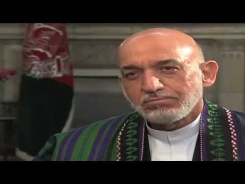 Pres Karzai Interviewed by VOA; ' 2 x Abdullah Dishonored Afghans 4 UN, US Role'