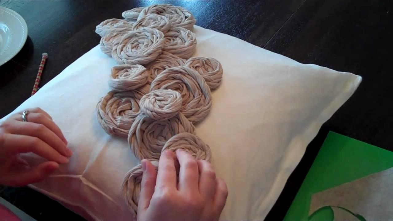 How to make rolled rosette flowers youtube