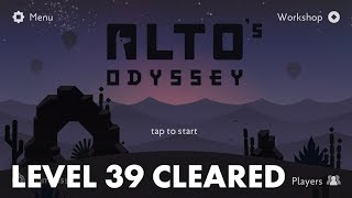Alto's Odyssey - Level 39 Goals and Walkthrough