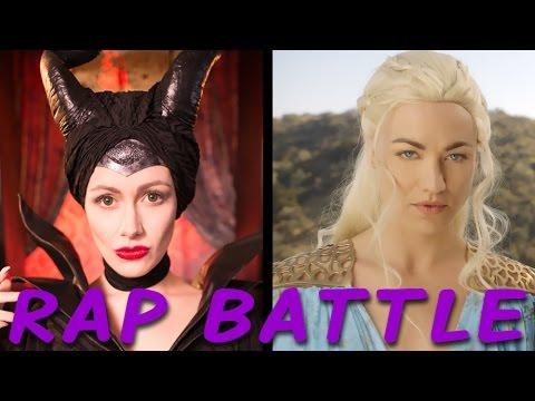 MALEFICENT vs DAENERYS: Princess Rap Battle (Yvonne Strahovski & Whitney Avalon) *explicit*
