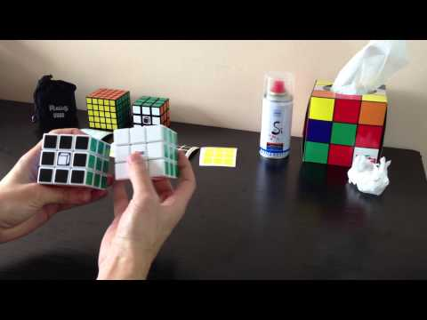 FAQ |  Кубик Рубика - как смазать, наклеить наклейки и настроить