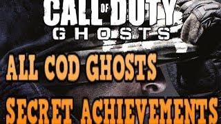All COD: Ghosts Secret Achievements