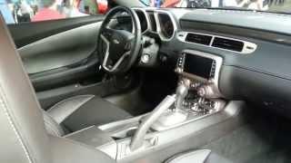 Interior Chevrolet Camaro SS 2014 Precio Caracteristicas