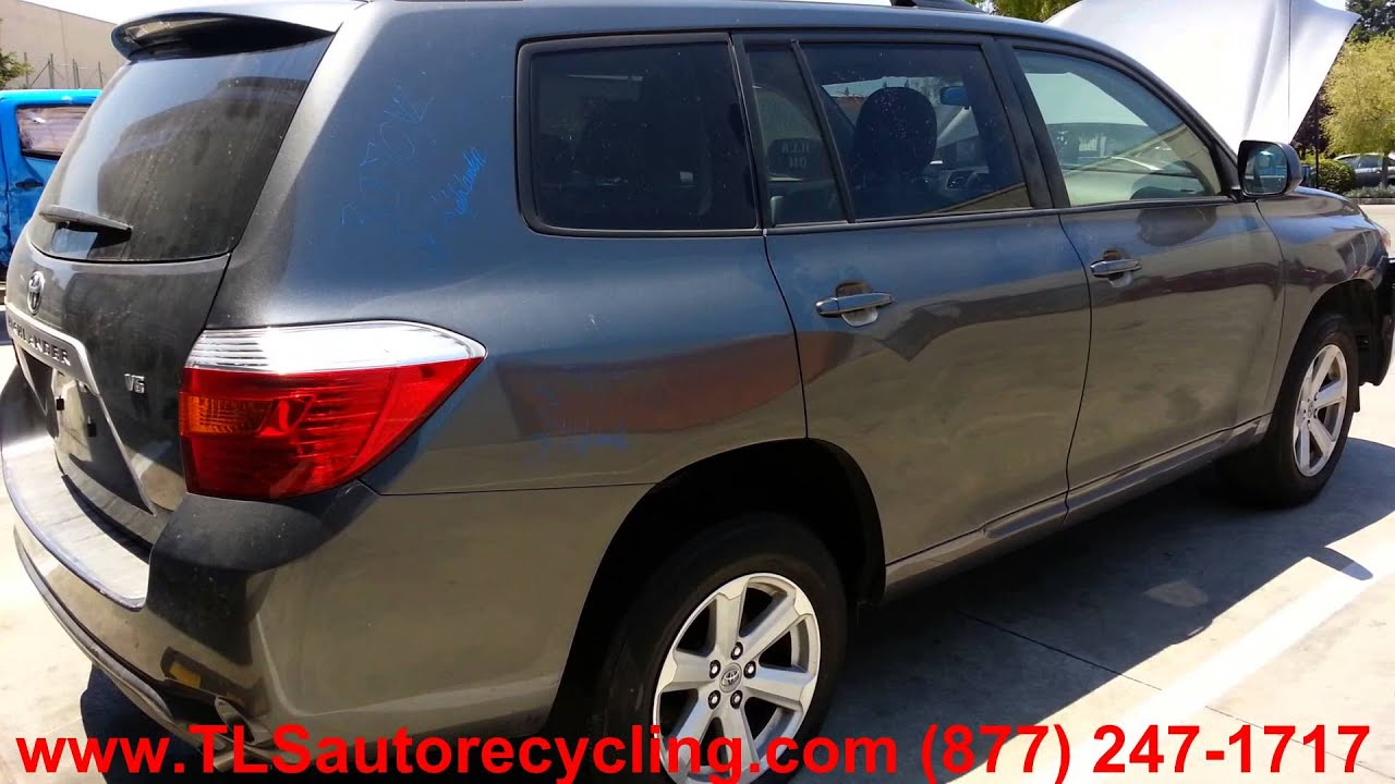 Starter 2008 Toyota Highlander Parts Diagram Example Electrical 2006 Hybrid Engine Parting Out Stock 3070yl Tls Auto Recycling Rh Tlsautorecycling Com 2007