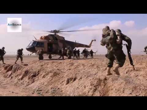 Afghan National Army - 3rd SOK Training Exercise (2014)