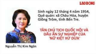 Thân thế - Sự nghiêp: CTQH Nguyễn Thị Kim Ngân