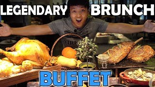 AMAZING All You Can Eat BRUNCH BUFFET in Jakarta Indonesia
