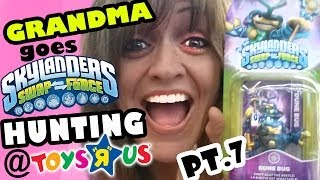 Grandma Goes Wave 3 Hunting For Skylanders Swap Force Pt