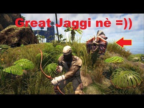 ARK: The Center #2 - Đại chiến với Quái thú khủng long Great Jaggi =))