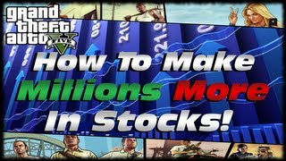 GTA 5 How To Use Tinkles Stock To Make Millions Of Dollars