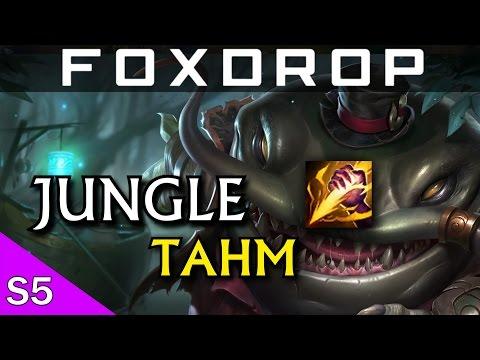[PBE] Tahm Kench Jungle - League of Legends