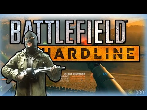 Battlefield Hardline Funny Moments - RPG Triple, Rooftop Defense, and Grenade!