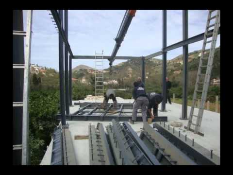ISOMETAL Κατασκευές - ΦΑΣΗ Νο.2 μεταλλικού σκελετού