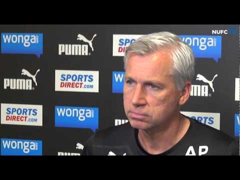 Alan Pardew's pre-Liverpool press conference