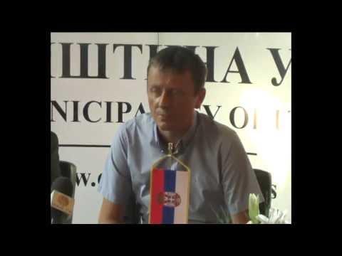 Bratimljenje opstine Ub saopstinom  Istocno Sarajevo 29 07 2013