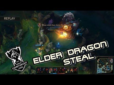Epic Elder Dragon Steal World Championship Finals   NA LCS, SKT vs SSG , SSG vs TSM , H2K vs EDG