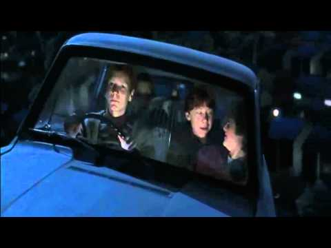 Harry Potter escapes the Dursley's.