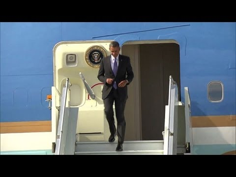 World leaders arrive in St. Petersburg for G20