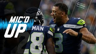 "Russell Wilson Mic'd Up vs. Colts ""That's a Touchdown All Day"" (Week 4) 