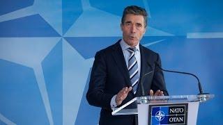 NATO condamnă invazia militară a Rusiei în Ucraina (en)