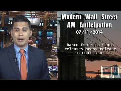 AM Anticipation: Futures rise, Wells Fargo awaits, Banco Espirto Santo suspended AGAIN