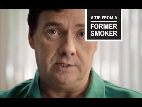 戒菸者現身說法—BrettCDC: Tips From Former Smokers -- Brett's Ad