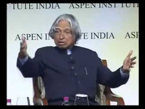 Abdul Kalam inspirational Speech on Leadership and Motivation