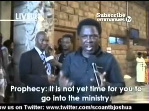 SCOAN 16 Mar 2014: Prophecy: Why Pastor's Ministry Fall Apart? God Has Right Time For A Pastor Call