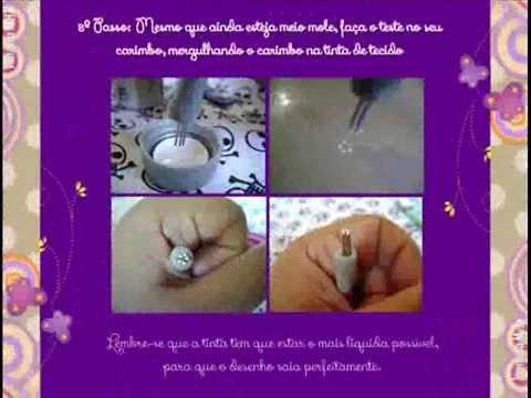 Como fazer carimbos artesanais para unhas by Stefhani Marques