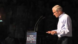 Town hall meeting with Ron Paul