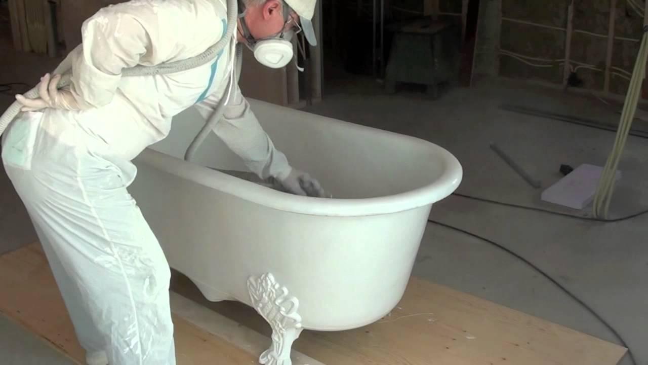 Renovatie antieke badkuip antique bad in amsterdam youtube - Sanitair opknappen ...