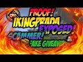 IKINGPRADA EXPOSED FOR FAKE GIVEAWAY AND SCAMMING NOT A CLICKBAIT