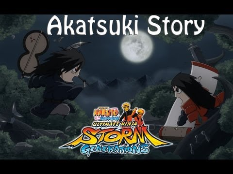Naruto ultimate ninja storm generation: Madara/Akatsuki Story Walkthrough VOSTFR