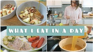 What I Eat In a Day Winter Edition | EASY & Healthy Meals