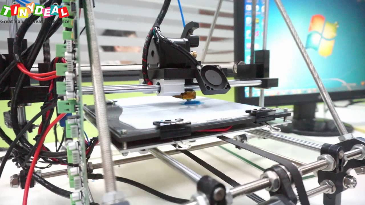 3D Printer demo, Aurora Z601 3D Printer, tinydeal - YouTube