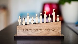 Solving the Holey Moley Bowling Puzzle