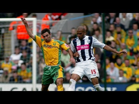 Norwich City 1 West Bromwich Albion 2 - 2006/07 season