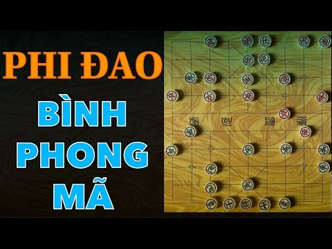72 bài học cờ tướng căn bản- Bài 6- Ngũ Thất Pháo vs Bình Phong Mã