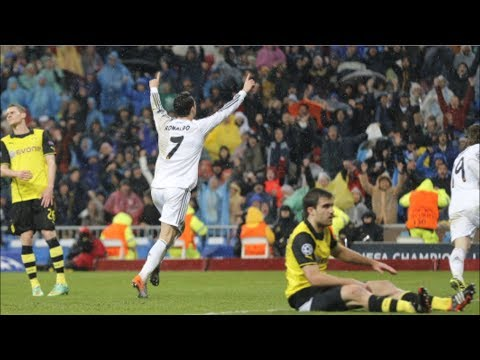 Real Madrid vs Borussia Dortmund 3-0 Champions League